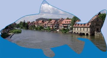 Angeln an der Regnitz bei Bamberg